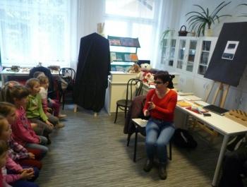 Spotkanie dzieci z niewidzącymi - zdjęcie1