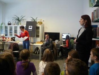 Spotkanie dzieci z niewidzącymi - zdjęcie2