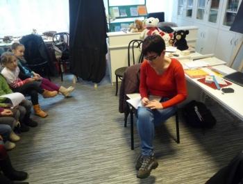 Spotkanie dzieci z niewidzącymi - zdjęcie5