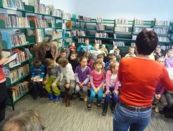 Spotkanie dzieci z niewidzącymi - zdjęcie7