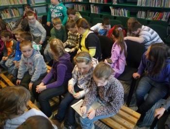 Spotkanie dzieci z niewidzącymi - zdjęcie9