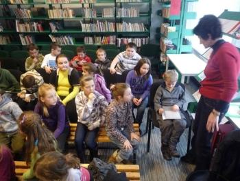 Spotkanie dzieci z niewidzącymi - zdjęcie13