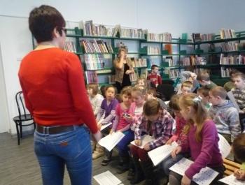 Spotkanie dzieci z niewidzącymi - zdjęcie19