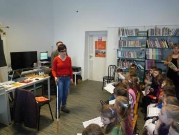 Spotkanie dzieci z niewidzącymi - zdjęcie26