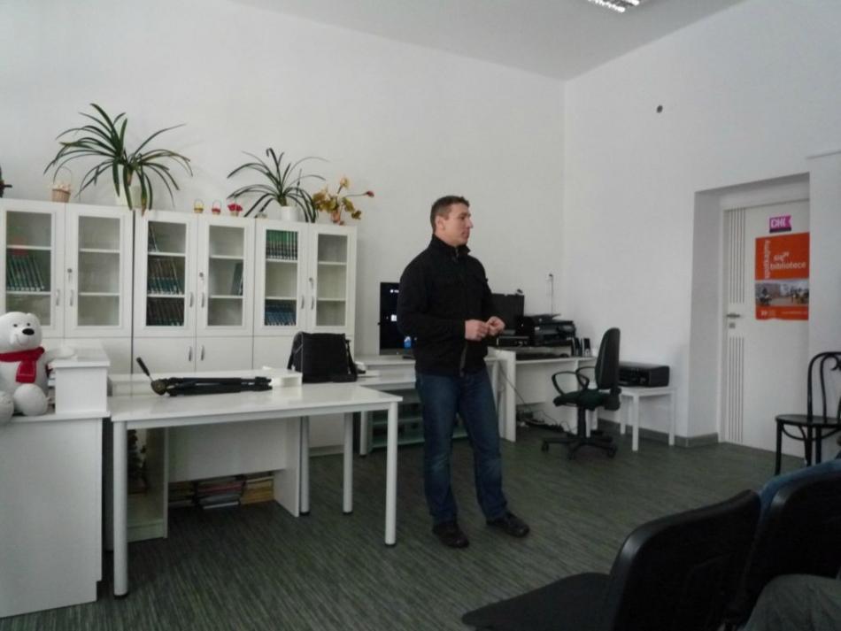 Warsztaty fotograficzne w bibliotece