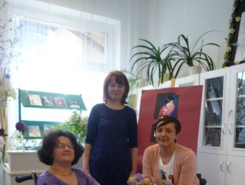 Monika Kuszyńska w Bibliotece - zdjęcie1