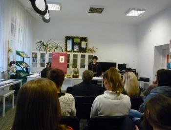 Spotkanie z Barbarą Rybałtowską - zdjęcie3