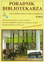Rozmowa z Małgorzatą Kępką – w miesięczniku Poradnik Bibliotekarza 09/2012